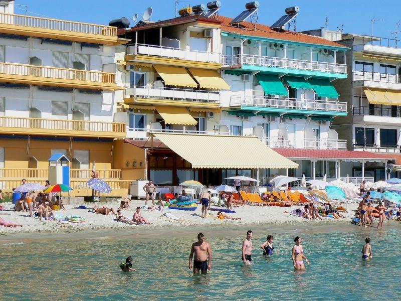 Vila Ziskos Paralia apartmani pored mora Olimpska regija